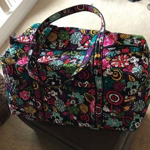 Vera Bradley Disney Magical Blooms Duffle Bag